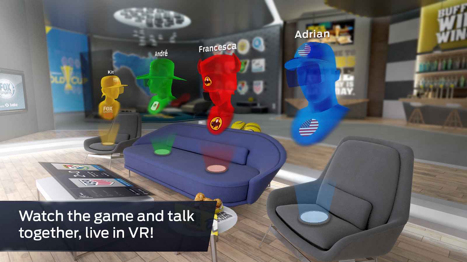 FOX Sports VR – Capture d'écran