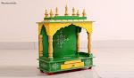 Premium Quality Variants of Solid Wood Home Temple in Gurugram Online