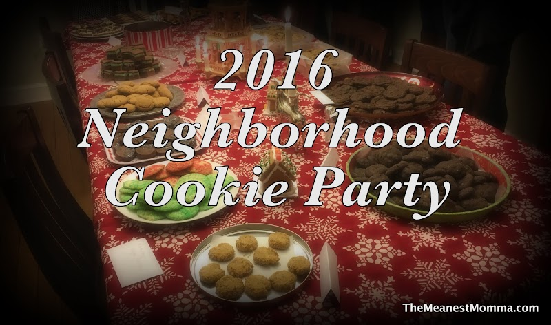 2016 Cookie Party