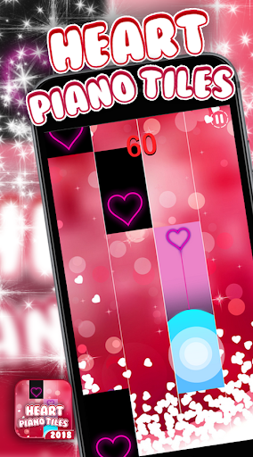 Hearts Piano Tiles - Trending - screenshot