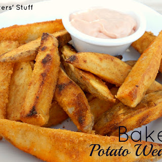 Baked Tater Wedges and Utah's Famous Fry Sauce