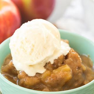 Slow Cooker Caramel Apple Pudding Cake.
