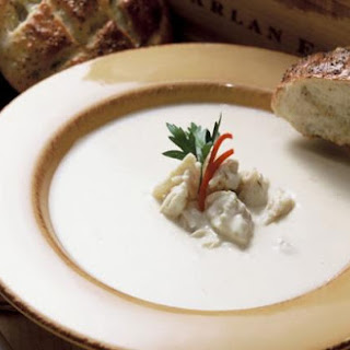 Louisiana Crab and Brie Soup.