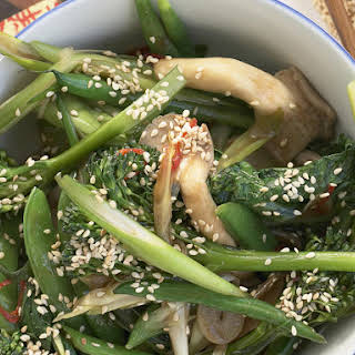 Asian Greens in Oyster Sauce.