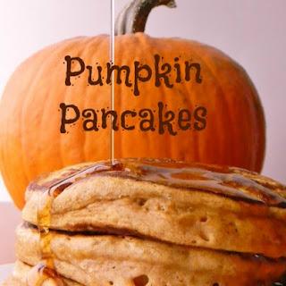 Fluffy Pumpkin Buttermilk Pancakes!