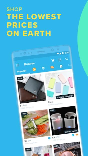 Wish - Shopping Made Fun Android App Screenshot