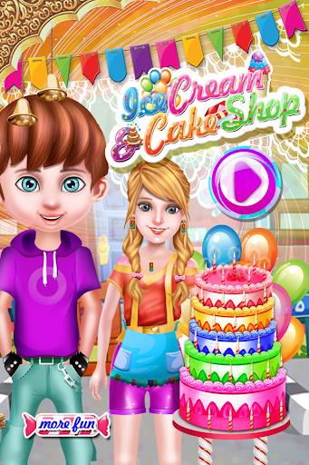 アイスクリームやケーキ屋