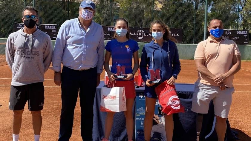 María Dolores López suma un nuevo trofeo a su palmarés.