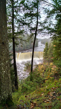 Photo: The Upper Falls of Tahquamenon Falls State Park in the U.P. of Michigan.
