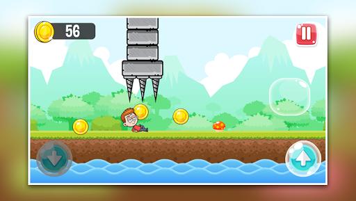 Télécharger Little Boy Run and Jump Adventure game APK MOD (Astuce) screenshots 2