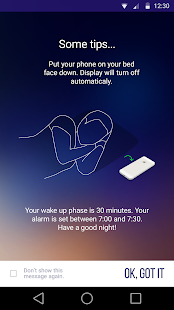 Sleep Time Smart Alarm Clock- screenshot thumbnail