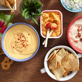Warm Beer and Cheddar Dip.