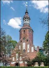 Photo: Pfarrkirche Dargun mit den alten Notglocken