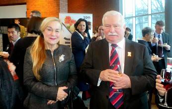 Photo: Z Prezydentem Lechem Wałęsą