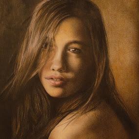 Angel by Kile Zabala - Drawing All Drawing ( argentina, pencil, draw, lapiz, la plata, buenos aires, dibujo )