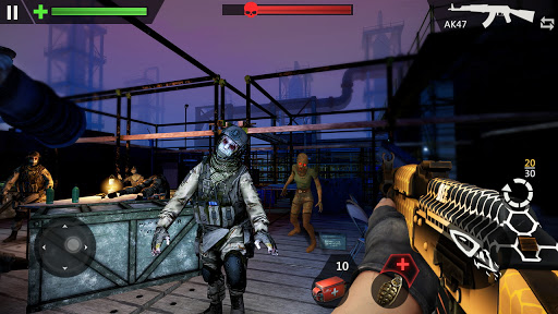 Zombie Target - Offline zombie shooting game  APK MOD (Astuce) screenshots 2