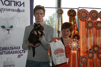 Photo: My lovely team members: Kirill Grishanov & Irina Matveeva