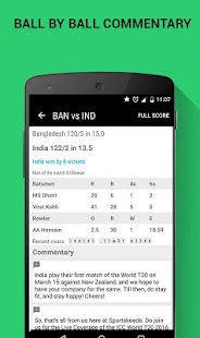 Sportskeeda Live Scores & News Screenshot