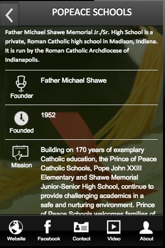 POPEACE SCHOOLS