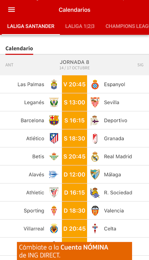 AS -  News and sports results.- screenshot
