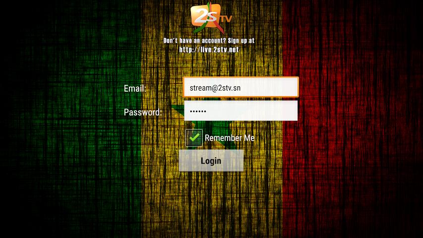 android 2STV Live Screenshot 0