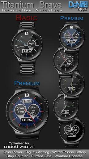 Titanium Brave HD WatchFace Widget Live Wallpaper 4.9.4 screenshots 1