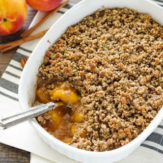 Peach Crisp No Butter Recipes