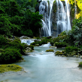 Nglirip Waterfall - Tuban East Java by Andrian Wibowo - Landscapes Waterscapes