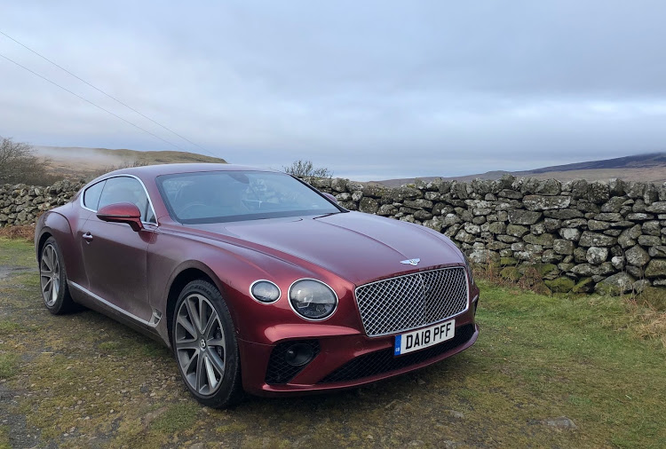 The Continental GT has some classic design features but is packed with technology and power.