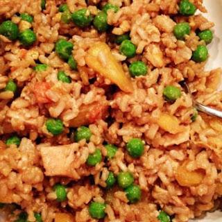 "Chicken Brown ""Fried"" Rice"