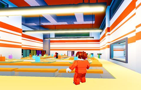 Obby Escape from prison roblx run mod 2