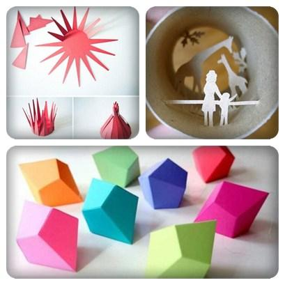 Creative Paper Craft Ideas Screenshot