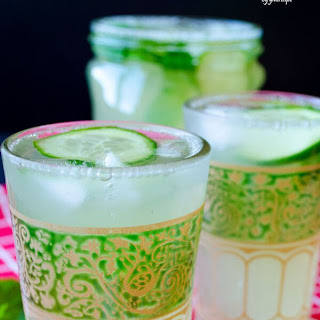 Fresh Cucumber Lemonade.