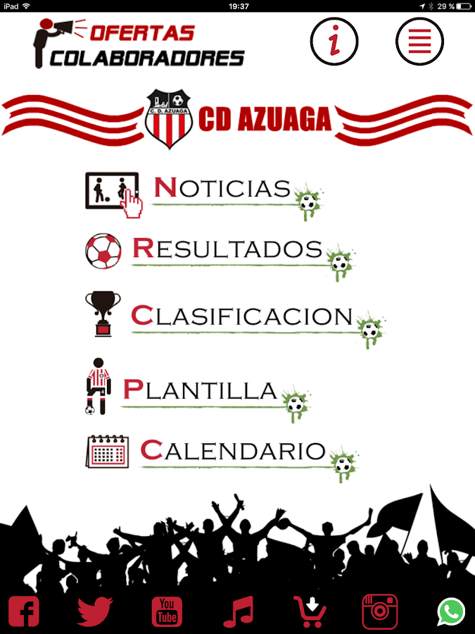 Club Deportivo Azuaga- screenshot