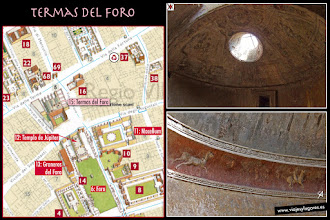 Photo: 20: Los romanos iban prácticamente a diario a las termas, tenían un bajo precio o incluso eran gratuitas. Pasaban horas tomando los baños y también hacían negocios, deporte, conversaban...