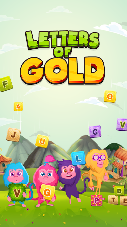 Letters of Gold - Word Search Game With Levels- screenshot
