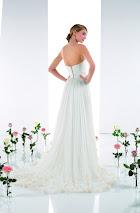 Robe de mariée Tipi, dos, robe de mariée en soie, robe de marée dos nu, robe de mariée légère