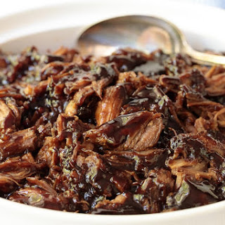 Brown Sugar Balsamic Pulled Pork.