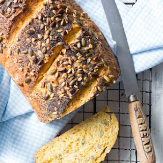 Thermomix Carrot and Seed Bread.