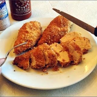 Crispy Breaded Chicken.