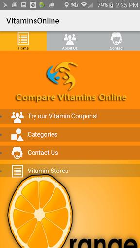 Vitamins Compare Shopping