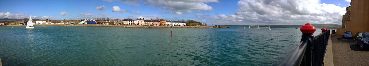 Photo: Sharing Dungarvan Bay since +John Tierney wasn't around to see it.