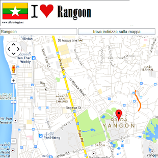 Yangon Google Map