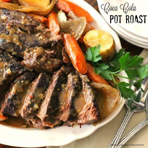 """Coca Cola Pot Roast """"Our table was usually filled with more friends..."""