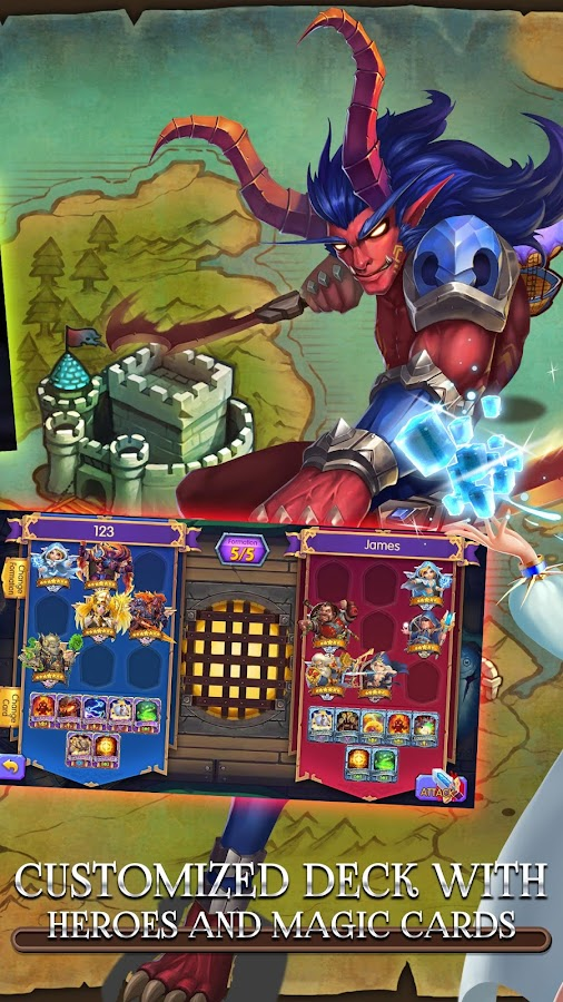 Heroes Crash: Deck Master- screenshot