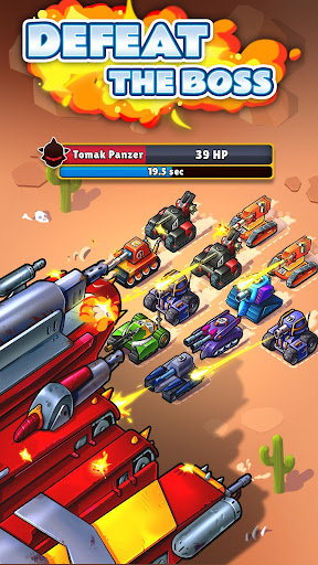 Screenshot for Huuuge Little Tanks - Merge Game in United States Play Store