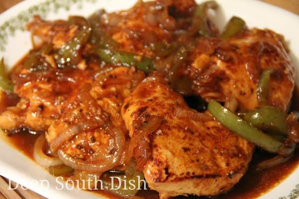 Honey Sweet Pepper Chicken Recipe