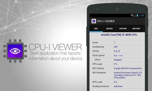 FP CPU - System Info