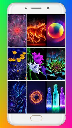 Glowing Wallpaper screenshots 1