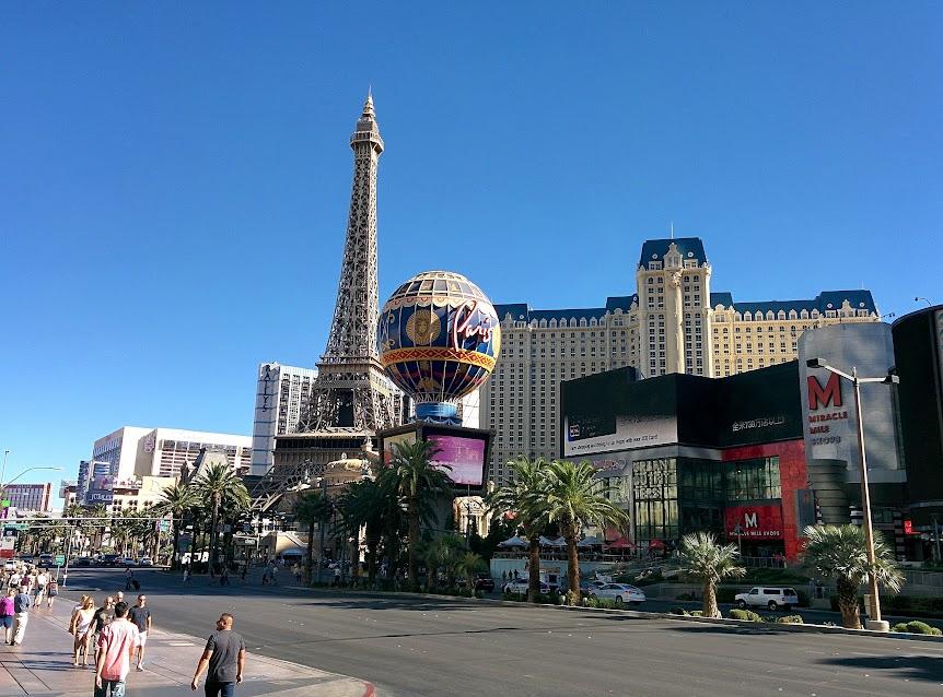 Las Vegas, hotel París